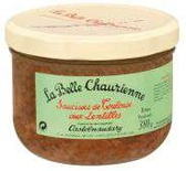La Belle Chaurienne Toulouse's Sausages with lentils 380g