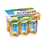 Danone Actimel multifruits 6x93.7ml