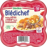 Bledichef Bledina Little Pasta & Beef Bourguignon way from 18 months 250g