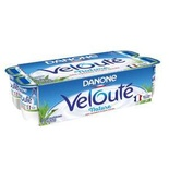 Danone Veloute brewed plain yogurt 8x125g