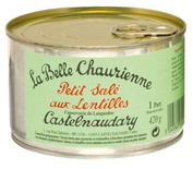 La Belle Chaurienne Petit Sale with Lentils  420g