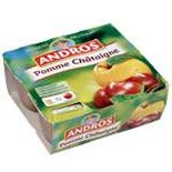 Andros Apple & Chestnuts dessert 4x100g