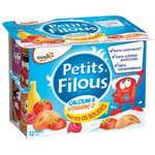 Yoplait Petit Filous fruits variety 12x50g