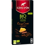 Cote d'or Organic Dark chocolate Orange 90g