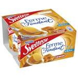 Nestle Sveltesse caramel yogurts 1.3% FAT 4x125g