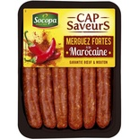 Socopa Extra spicy Merguez (sausages) x6 330g