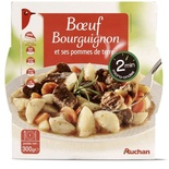 Auchan Beef Bourguignon with potatoes 300g