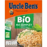 Uncle Ben's Organic Whole rice  375g