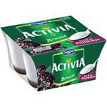 Danone Activia brewed on plums 4x125g