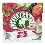 Elephant infusion red fruits x 20 sachets 36g