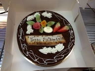 Chocolate birthday Cake (Patisserie) on Request*