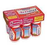 Danone Actimel Strawberry 6x93ml