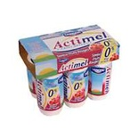 Danone Actimel red fruits 0% FAT 6x93.7ml