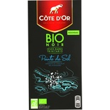 Cote d'or Dark chocolate Organic Touch of Salt 90g