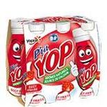 Yoplait P'tit Yop Raspberry 6x180g