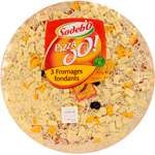 Sodebo 3 cheeses pizza 450g