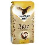 Taureau Aile Rice selection of 3 rices  500g