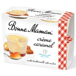 Bonne Maman Creme caramel with fresh eggs 4x100g