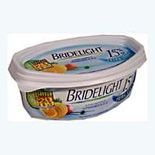 Bridelight unsalted butter 15% FAT beurrier 250g