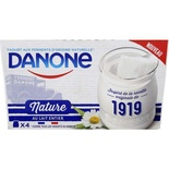 Danone Yoghurts with whole milk 4x125g