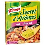Knorr Aromas Secret Garlic & Parsley x9 cubes 90g