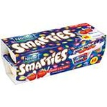 Nestle Smarties Strawberry yogurts 4x120g