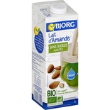 Bjorg Organic Almond milk no added sugar 1L
