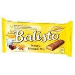 Balisto Honey & Almonds bar 37g