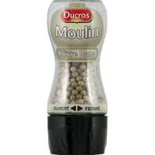 Ducros White pepper with grinder 39g