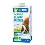 Bjorg Organic light Coconut cream 20cl