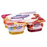 Danone Taillefine Cottage cheese mousse Strawberry & Peach 4x115g