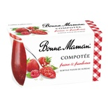 Bonne Maman Compote Strawberry & Raspberry 2x130g