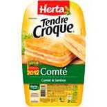 Herta Croque-Monsieur ham & Comte cheese 2x200g