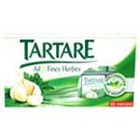 Tartare garlic & herbs spread cheese x10 portions 140g