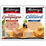 Madrange Country Terrine & Duck mousse terrine 100g