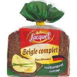 Jacquet Whole rye bread  500g