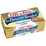 Elle & Vire Normandy's soft unsalted butter 250g
