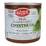 Clement Faugier Whole peeled chestnuts 240g