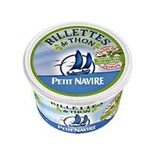 Petit Navire Potted Tuna (Rillettes) with green olives 125g