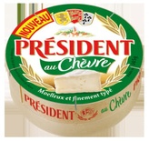 President Goat cheese camembert 145g