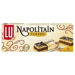 LU Napolitain chocolate cake classic mini's x 6 180g
