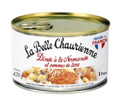 La Belle Chaurienne Norman turkey and potatoes 420g