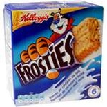 Kellogg's Frosties cereal bars x 6 150g
