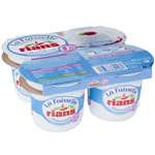 Rians Faisselle Cottage cheese curds 0% FAT 4x100g