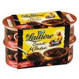 La Laitiere dark chocolate mousse 4x12cl