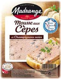 Madrange Forestiere style terrine with black mushrooms 180g