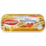 Saupiquet Mackerel Fillets With Grain Mustard & Lemon Juice 169g