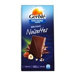 Gerble no sugar added dark chocolate with hazlenuts 80g