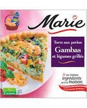 Marie King Prawn pie with grilled vegetables 350g