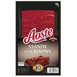 Aoste Grisons's Meat (thincut beef) x10 slices 80g
